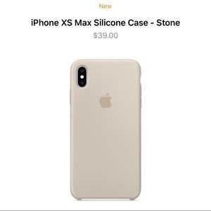 Apple Original iPhone XS Max Silicone Case